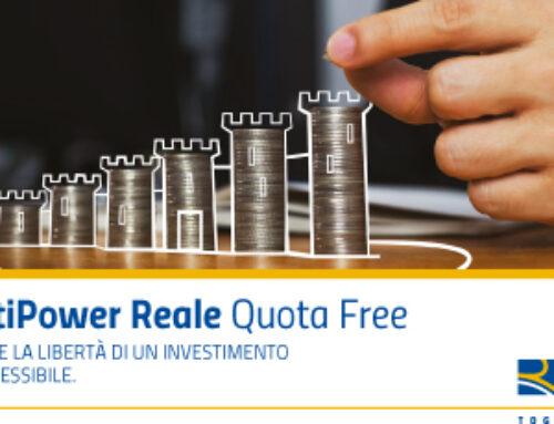 Multipower Reale Quota Free -risparmi in tranquillità con prospettiva di rendimento